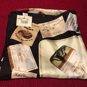 100% Silk Scarf from Napa Valley
